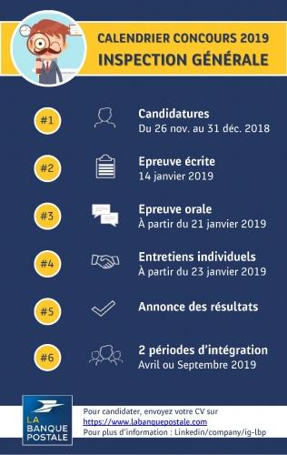Participez Au Concours 2019 De L Inspection Generale La Poste Recrute